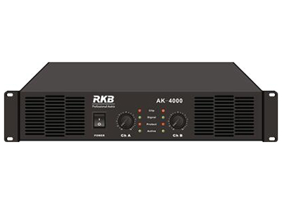 AK-3000功放  额定功率:立体声Stereo power(RMS/THD1\%)8Ω:300w x2 桥接:单声道Bridge power(RMS/THD1\%)8Ω:700w 阻尼系数Damping factor:400:1 转换速率Slew rate:60v / us 信噪比S/N Ratio:>103dB 总谐波失真(THD):