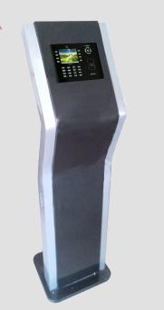 熵基科技 郑州中控考勤机柜   汉王考勤机柜   立式人脸考勤机柜支持定制外观 颜色等