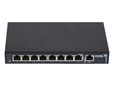 锐捷 RG-NBS1809C 监控交换机 8口百兆电口+1个千兆Combo