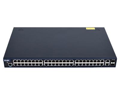 锐捷 RG-NBS252F 48口10/100M自适应电口交换机