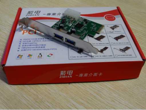 PCI-E 转USB3.0  2口