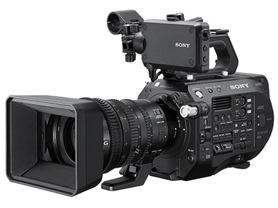 索尼 PXW-FS7M2 便携式专业数字摄像机 4K 高清摄录一体机