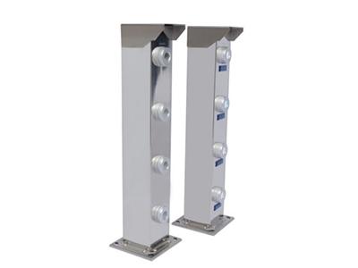 四光束激光对射(金刚系) 探测距离 0-500米 报警源 任一光束遮断报警或两光束同时遮断报警 304不锈钢