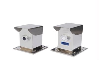 单光束激光对射探测器(金刚系) 警戒距离 0-500米 报警源 单光束遮断报警 304不锈钢 警戒层数一层