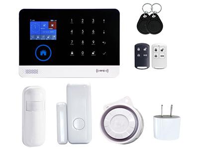 WIFI+GSM双网报警主机