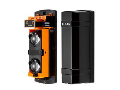 艾礼安 ABT系列  二光束主动红外对射探测器  变频版 4段变频,频率误差精确至1\%以内,完全避免误报、漏报、人为技术破解 精准捕捉信号变化 红外信号二次处理