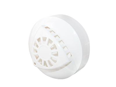 艾礼安 温度感应探测器 JA-830 美观大方的外形设计 防尘功能,有效防止误报独特的工艺结构设计 断电报警复位功能 吸顶式安装 高精密度温度传感器 采用贴片技术,抗EMI、RFI干扰