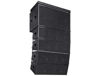 JRK LA-218 工程類線陣音響  適用于會議室、多功能廳、室內外演出、體育場館、舞廳、劇院、教堂等各種擴聲場所。