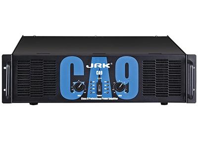 JRK CA系列純后級功放  大功率輸出2U/3U機身高轉換率速高阻尼系數 通道獨立音量控制,操作方便8Q橋接輸出功率可超過2400W 低頻截止頻率可選,根據不同負載選擇完善保護功能,可自動識別20負載 自動調整相應參數以確定功放的穩定性和可靠性