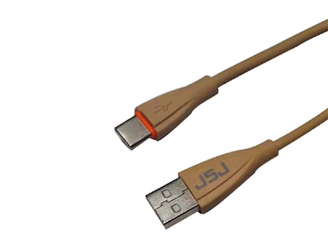 金山角 JSJ-USB232C Type-C手机数据线1.2米