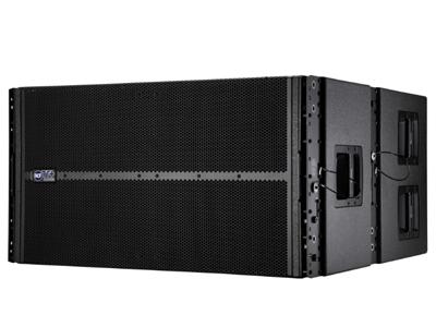 "RCF  TTL 36-AS 有源線陣低頻音箱 4000瓦(2×2000 W數字開關功放)2x18""高功率釹磁低頻單元,4.5""音圈 96千赫,32位DSP處理 RDNET遠程控制"