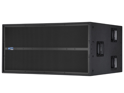 """RCF TTS 56-A 超低頻有源音箱(6800W)2 X 3400 W數字功放 2 X 21""""高功率釹磁低頻單元 96 KHZ,32位DSP處理 RDNET板載,可監控,可編程"""