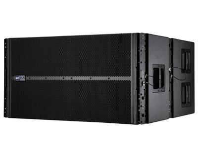 "RCF TTS 36-A 高功率超低頻有源音箱 4000W(2 X 2000W數字功放)2*18""高功率釹磁低頻單元,4.5""音圈 96 KHZ,32位DSP處理 RDNET板載"