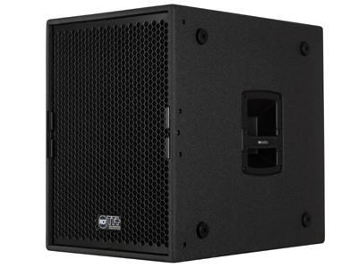"RCF TTS 15-A 超低頻有源音箱 134 db 最大聲壓級 35-400 HZ頻率范圍 1 X 15""低音單元 1100W RMS D類功放"