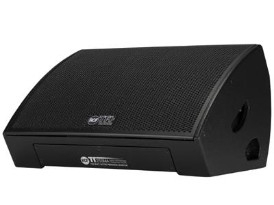 """RCF TT 25-SMA 有源高輸出舞臺監聽音箱 750 W兩分頻數字功放 3.5""""音圈,釹低音揚聲器 2.5""""音圈,釹壓縮驅動器 軟限幅器RMS保護"""