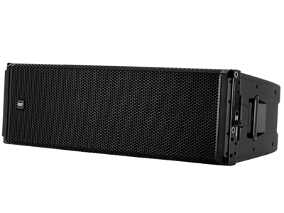 RCF HDL 50-A 有源三分頻線陣列音箱 4400W,3路放大 140 DB最大SPL 8個高功率釹磁單元 RDNET控制