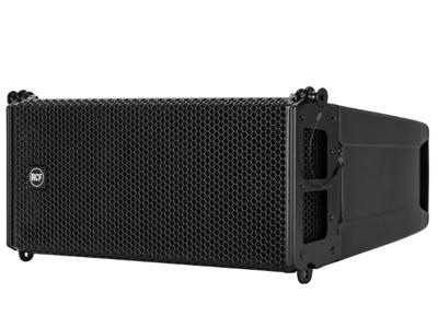 """RCF HDL 6-A 有源線陣音箱 1400 W,雙向放大 1.7""""音圈釹磁高頻單元 2 X高功率釹6.0""""低頻單元 FIRPHASE處理"""