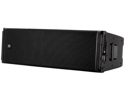 "RCF HDL 53-AS 有源線陣低頻音箱 3300W峰值功率 - 1650W均值 3 X 12""低頻單元 最大聲壓級為139 DB RDNET遠程和控制"
