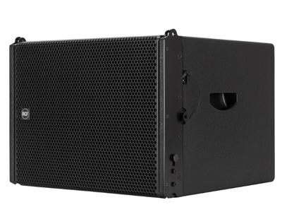RCF HDL 12-AS 有源線陣低頻音箱 1400W峰值功率 - 700W均值 1 X 12英寸低音單元 40 HZ - 120 HZ頻率響應 最大SPL為131 DB