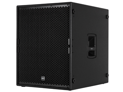 "RCF SUB 9004-AS 超低頻有源音箱 2800 W額定功率 136 DB 最大聲壓級 18""釹磁低頻單元,4.0""音圈 RDNET遠程監控"