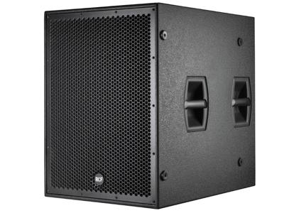 "RCF SUB 8005-AS 超低頻有源音箱 2500瓦峰值功率 - 1250瓦RMS 21""低音喇叭,4.5""音圈 27 HZ - 120 HZ頻率響應 最大聲壓級為137 DB"