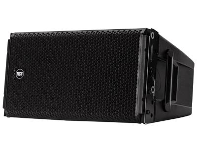 RCF HDL 28-A 有源雙向線陣列音箱 2200W雙向放大器 135 DB最大聲壓級 48 KHZ,32位DSP處理 RDNET網絡化管理