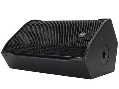 """RCF ST 12-SMA 有源舞臺返聽音箱 800瓦峰值,400瓦RMS 12""""低頻單元,2.5""""音圈 1 """"高頻單元,1.4""""音圈 最大SPL為129 DB"""