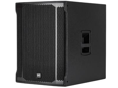 "RCF SUB 8003-AS II 超低頻有源音箱 2200瓦峰值功率 18""低音喇叭,4.0""音圈 35 HZ - 120 HZ頻率響應 最大聲壓級為135 DB"