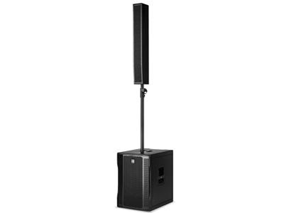 "RCF EVOX 12 有源兩分頻陣列音箱 1400W 15""低音單元 8 X 4""釹全頻低音揚聲器 最大聲壓級為130 DB"