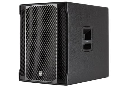 """RCF SUB 708-AS II 超低頻有源音箱 1400W數字功放 18""""低音單元,低音反射外殼 立體聲交叉 可切換的交叉頻率"""
