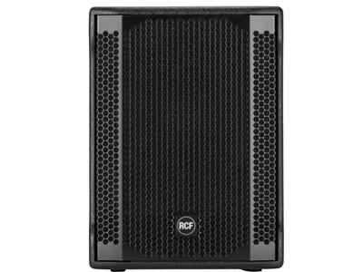 """RCF SUB 702-AS II 超低頻有源音箱 1400W數字功放 12""""低音單元,低音反射外殼 立體聲交叉 可切換的交叉頻率"""