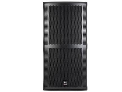 """RCF V 45 無源全頻音箱 高功率,雙向低音反射全頻系統 2 X 15""""低頻單元,4""""音圈 1.4""""鈦合金高頻單元,4.0""""音圈 最大聲壓級為137 DB"""