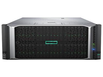 惠普HP ProLiant DL580 Gen10(869853-AA1)  標配 2個IntelXeon-Gold 5118 (2.3GHz/12-core/105W)處理器,可支持最大4個處理器;標配32 GB DDR4-2666 MT/s (2x16 GB)內存內存,最多48個內存插槽;內置HPE Smart Array P408i-p SR Gen10 12Gb SAS 陣列控制器,帶智能存儲電池;標配 8個SFF熱插拔硬盤插槽,最多擴展到48個SFF熱插拔硬盤,標配無硬盤;標配7個PCI-E 3.0插槽;標配4端口千兆331FLR以太網卡;標配帶 2個1600W 白金熱插拔電源,可選支持冗余(3+1);標配12個熱插拔冗余風扇( N+1);標配無光驅;標配 HPE iLO5;4U機架式,含便捷安裝導軌和理線架;3年5*9,NBD