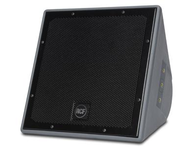 """RCF P 3115T 防風雨同軸兩分頻音箱 15""""高輸出低頻單元,帶2.5""""音圈 1.0""""精密高頻單元,帶1.5""""音圈 有源MOSFET壓縮驅動器保護 12個黃銅懸掛點(M10)"""
