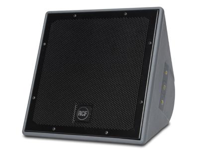 """RCF P2110T 防風雨同軸兩分頻音箱 10""""高輸出低頻單元,帶2.0""""音圈 1.0""""精密高頻單元,帶1.5""""音圈 有源MOSFET壓縮驅動器保護 12個黃銅懸掛點(M10)"""