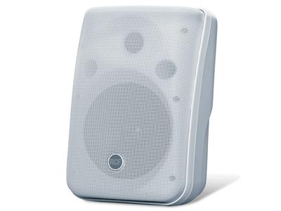 "RCF MQ 50 緊湊型兩分頻音箱 雙向BASS REFL EX揚聲器用于音樂再現 0,75""圓頂高頻單元,5.0 ''低頻單元 功率/ RMS:120/60 W旁路 交叉頻率:4500 HZ,12/12 DB / OCT"