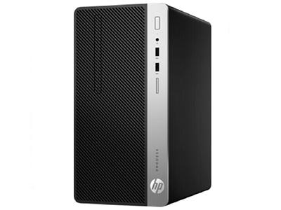 惠普HP ProDesk 400 G5 MT(4VG02PA)  ProDesk 400 G5 MT/New Celeron Dual Core G4900(3.1G/2M/2核)/4G(DDR4 2666*)/500G(SATA)/NOCD/Windows 10 Home 64位/NOFDD/USB KB/USB Optical  Mouse/新180W 高效電源/3-3-3有限保修 *該處理器僅支持DDR4內存2400MT/s數據傳輸速率