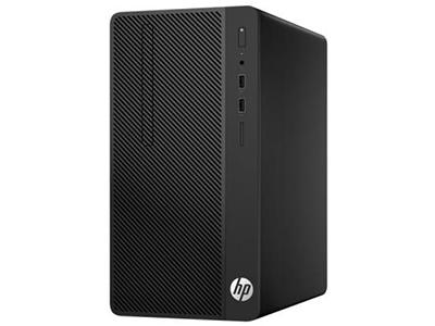 惠普HP 285 Pro G3 MT(3XJ11PA)  285 Pro G3 MT/AMD PRO A6-9500(3.5GHz/1M/2核)/4G(DDR4 2666*)/500G(SATA)/超薄DVDRW/Windows 10 Home 64位/NOFDD/USB KB/USB Optical Mouse/新180W 防雷電源/3-3-3有限保修