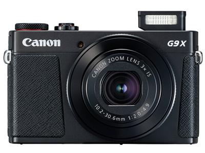 佳能 PowerShot G9X Mark II 数码相机 黑色 (2010万有效像素 DIGIC7处理器 28-84mm变焦)