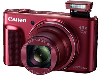 佳能 PowerShot SX720 HS 数码相机(2030万像素 40倍光变 24mm超广角)