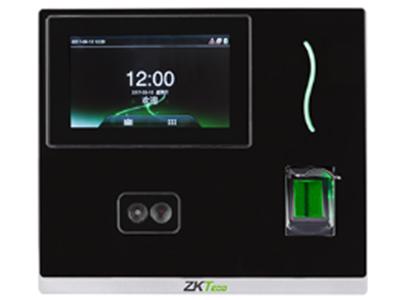 人脸识别考勤机inSun100 户外面部考勤终端采用中控智慧全新自主研发的面部识别算法9.0,区别于传统面部识别算法,更快速、更准确;采用ZMM220(128M内存,256M Flash)大容量核心板,CPU主频高达1G,基于Linux系统开发,保证产品高速稳定运行;inSun100具有高分辨红外双摄像头,在红外双摄像头周围红外灯数量多达168个,更好的抵抗光线的干扰,使得在打卡签到时,更加高效便捷。inSun100期待着您的体验。