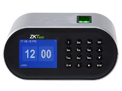 桌面指纹考勤机ZM106 一款新型桌面式指纹考勤机,拥有2.8寸TFT高清显示屏。其操作界面简洁,放在办公桌上既实用又美感。本次设计的指纹头在设备顶部,将带来全新的用户体验,支持360°验证比对,可以U盘高速上传下载数据,全新设计安卓式电源接口,另外还有魔术贴,用来将其固定,此外还可以选配后备电池,待机供电,便于携带。这样一台指纹考勤机可以满足您的各种个性化需求,为您打造一款理想的考勤机,相信一定会成为您桌面独具一格的风景线。