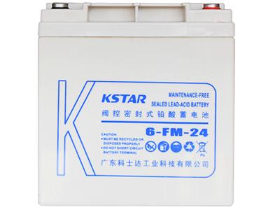 科士达 12V24AH 铅酸蓄电池 6-FM-24免维护