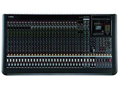 """雅马哈 MGP32X 模拟调音台 """"32通道高品质数模结合型调音台 24路话筒输入,带有 48V幻象供电,每通道带有HPF 32个线路输入 (24个单声道和 4个立体声) 6个AUX发送 + 2个FX发送 4 GROUP母线 + ST母线 2 Matrix 输出 1 个单声道输出 录音棚〜分布式A类 """"D-PRE""""话放, 内部配置复合晶体管倒相电路 具音乐韵味的 X-pressive EQ功能源于Yamaha久负盛名的VCM技术 专业单旋钮压缩器,带有LED指示灯 双重数字效果处理器:REV-X和Cla"""