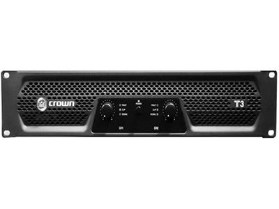 CROWN  T3 功率放大器 -模拟 4-ohm立体声:450W8-ohm立体声:330W 8-ohm 桥接单声道:900W