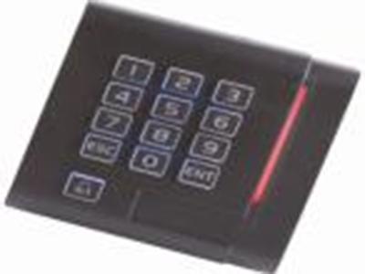 微耕 CR-1003MB  门禁读卡器 DC12V供电、  小于100mA供电电流、  3-15cm读卡距离、  13.56MHz读卡频率、  Wiegand 26格式输出,  传输距离可达100米、  PVC材料,  内部灌黑色防水树脂胶、  外观尺寸:86 * 86 * 20mm。