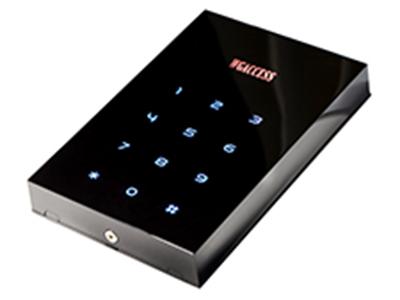 微耕 WGACCESS1060  门禁读卡器 适用卡片Mifare one IC卡,EM ID卡(全兼容,免跳线) 读卡器距离(标准卡)3-6厘米(Mifare one IC卡),4-8 厘米(EM ID卡) 密码键盘输出12键,触控,常发光(按哪个键哪个灭,并蜂鸣。) 使用环境温度 -25 至 70 摄氏度  (ID卡最低使用温度可低至-40摄氏度,由于采用高档亚克力材料,不建议在室外阳光   暴晒的环境下使用)  使用环境湿度小于 95% 无冷凝 传输距离100米 (建议在80米以内)