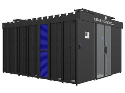 科士达 模块化机房  模块化机房:高度集成,一体化解决方案,高可靠等级,完善的智能监控,PUE值可小于1.5、按需投资,模块级扩容。