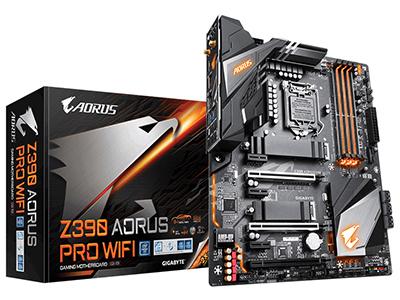 Gigabyte/技嘉 Z390 AORUS PRO WIFI 台式机电脑游戏主板1151接口