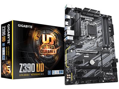 技嘉 Z390 UD 台式电脑主机游戏主板 九代1151电竞大板